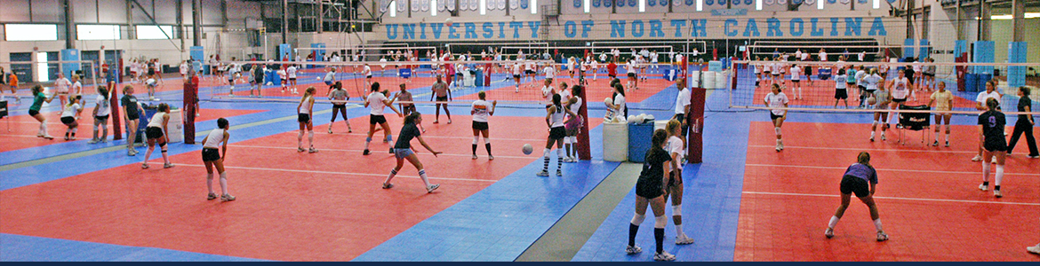 Carolina Volleyball Camps - powered by Oasys Sports